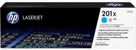 HP toner 201X, cijan (CF401X), 2300 ispisa