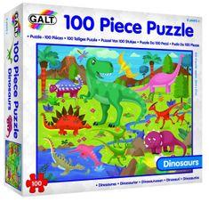 Galt 100 Puzzle v krabici - Dinosauři