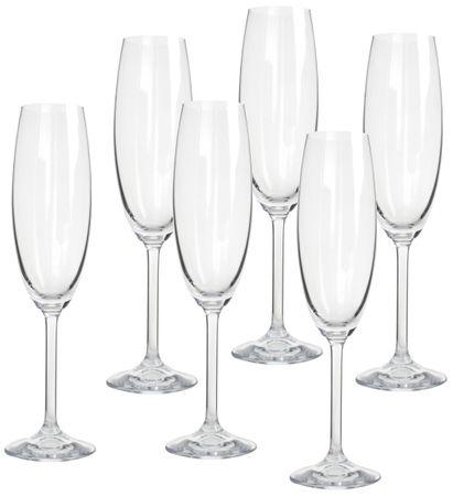 Banquet poháre na sekt Degustation 280 ml, 6 ks