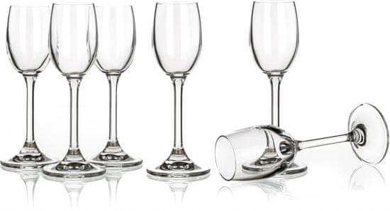 Banquet poháre na likér Leona 60 ml, 6 ks