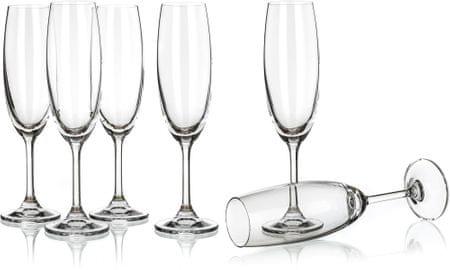 Banquet Leona 210 ml pezsgőspohár 210 ml, 6 db