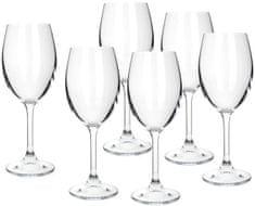 Banquet set kozarcev za belo vino Leona, 230 ml, 6 kosov