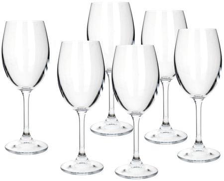 Banquet fehérboros pohár Leona 340 ml, 6 db
