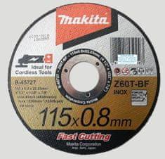 Makita tarcza tnąca 115x0,8x22,23 mm (Z60T-BF)