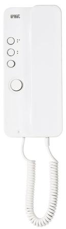 Urmet slušalka električna 1+1, bela