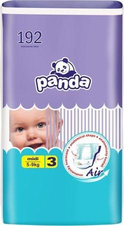 Panda 3 Midi pelenka - 192 db
