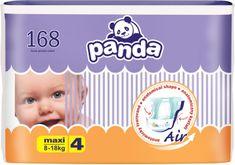 Panda 4 Maxi (8-18 kg) 168 ks (4x42 ks)