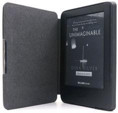 C-Tech Pouzdro pro Amazon Kindle 8, hardcover, černé (AKC-12BK) - rozbaleno