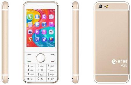 eStar GSM telefon A28 Dual Sim, zlat