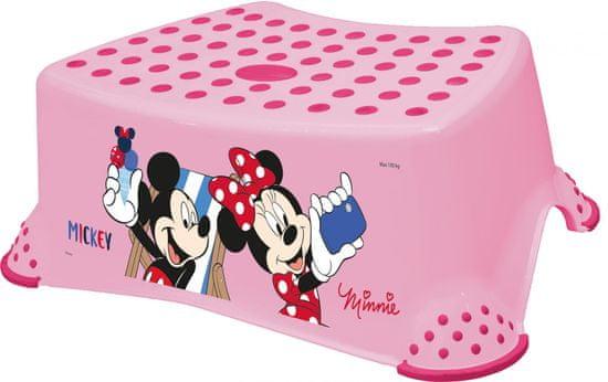 "keeeper Stupienok k WC/umývadlu ""Mickey&Minnie"", Pink"