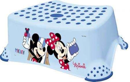 """keeeper Podnóżek dziecięcy """"Mickey&Minnie"""", Blue"""