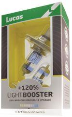 Lucas Autožiarovka LightBooster H1 12V 55W + 120 %, 2ks (LLX448XLSX2)