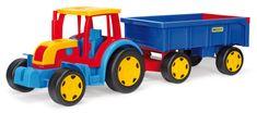 Wader Gigant traktor s vlekom