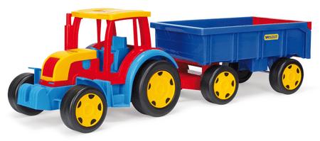 Wader traktor s prikolico Gigant