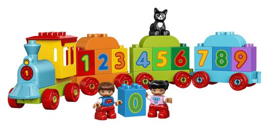 LEGO DUPLO® 10847 Vláček s čísly