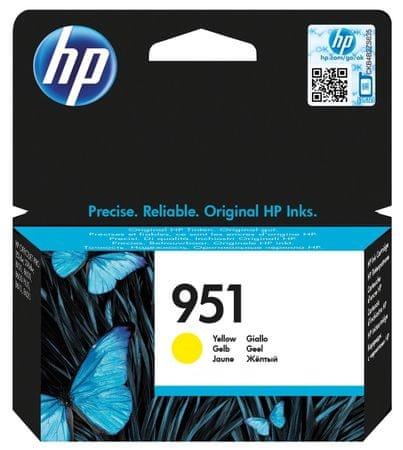 HP náplň č.951, žlutá (CN052AE)