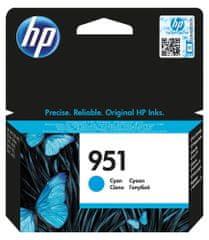 HP náplň č.951, azurová (CN050AE)