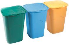 Heidrun Sada odpadkových košov 3x 50 l