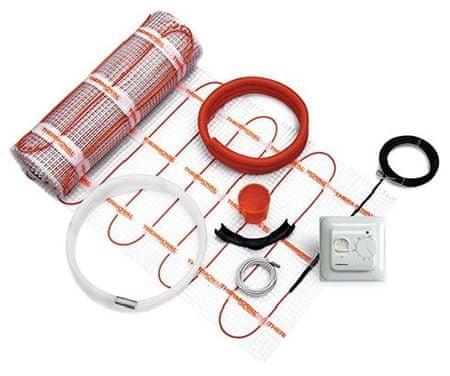 Thermoval set grelna preproga 2,5 m2, 425 W + ročni termostat