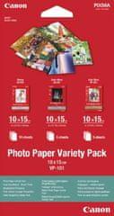 Canon papier fotograficzny VP-101, 10x15 cm, Variety pack (0775B078)