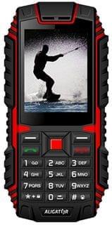 Aligator R12 eXtremo, Dual SIM, červená/černá