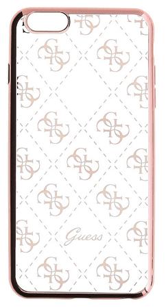 Guess GUHCP6TR4GRG 4G TPU Rose Gold iPhone 6/6S Szilikon tok