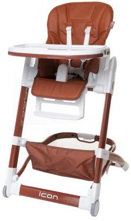4Baby Krzesełko do karmienia ICON, Brown