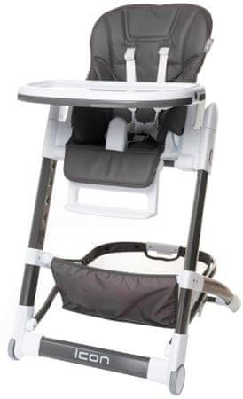 4Baby Krzesełko do karmienia ICON, Grey