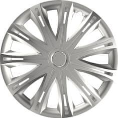 Versaco Puklice SPARK Silver sada 4ks