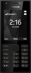Nokia mobilni telefon 216 DS, crni