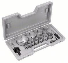 Bosch komplet žag za izrezovanje lukenj, 14-delni 19; 22; 25; 29; 35; 38; 44; 51; 57; 64; 76 mm (2607018390)