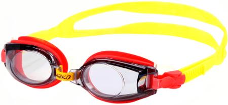 Saeko S5A-YR Gyerek úszószemüveg, Piros/Sárga