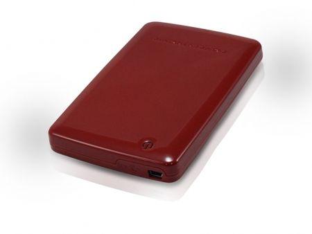 """Conceptronic mini ohišje za trdi disk 6,35 cm (2,5""""), rdeče (CHD2MUR)"""