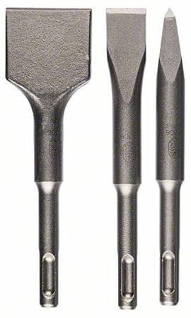 Bosch trodijelni komplet kratkih dlijeta SDS-plus 140 (2608690180)