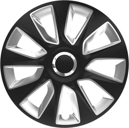 """Versaco kołpaki Stratos RC Black/Silver - 4 sztuki, 13"""""""