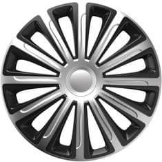 Versaco Puklice TREND Silver/Black sada 4ks