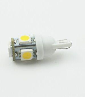 M-LINE žarnica LED 24V W5W-T10 5xSMD 5050, bela, par