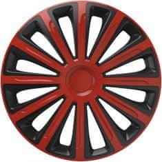 Versaco Puklice TREND Red/Black sada 4ks