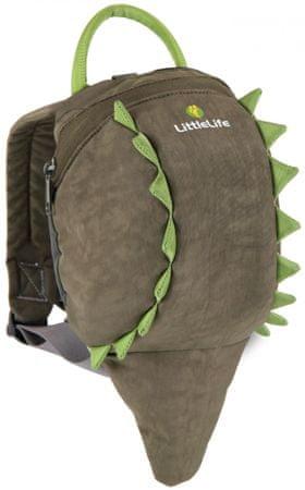LittleLife Állatos tipegő hátizsák, Krokodil