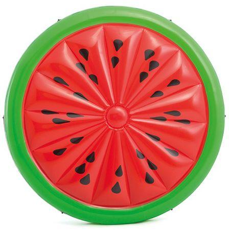 Intex 56283 Nafukovací matrace kulatá vodní meloun 183 cm