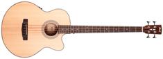 Cort SJB 5F NS Elektroakustická baskytara