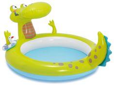 Intex Felfújható krokodilos gyerekmedence