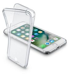 CellularLine oboustranné ultratenké pouzdro CLEAR TOUCH pro iPhone 7 Plus, čiré
