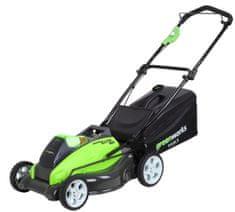 Greenworks Akumulátorová travní sekačka 40 V (G40LM45)