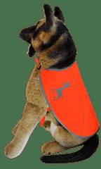 Alcott Reflexní vesta pro psy, oranžová