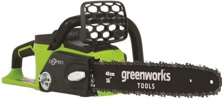 Greenworks Láncfűrész akkumulátoros 40 V indukciós motorra (GD40CS40)