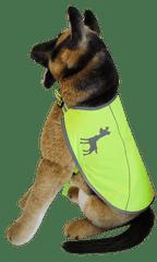 Alcott Reflexní vesta pro psy, žlutá