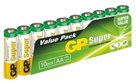GP Super Alkáli elem, AA, 10db