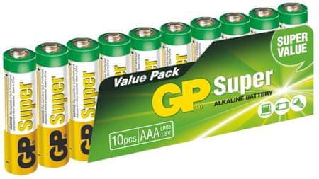 GP Super Alkaline AAA Alkáli elem, 10 db