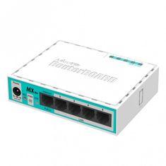 Mikrotik LAN usmerjevalnik hEX lite RB750R2, 5-portni